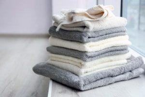 Развешивайте полотенца