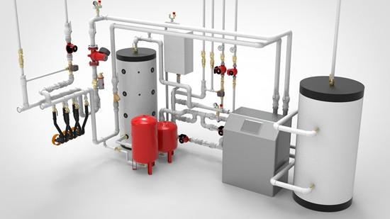Установка электрических котлов отопления