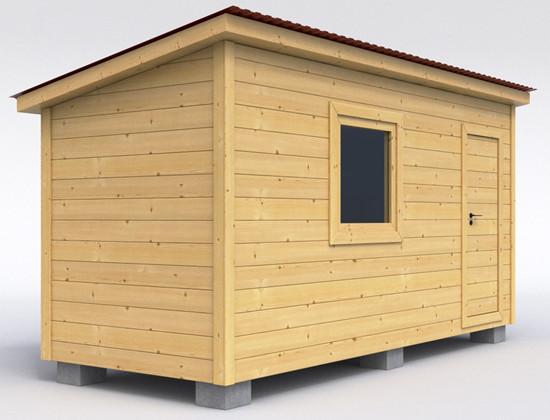 Современные деревянные хозблоки и бытовки
