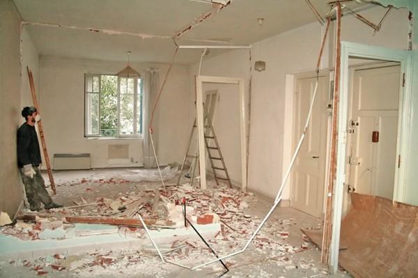 Работы при ремонте квартиры